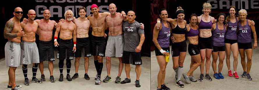Masters Athletes Ages 40-65+